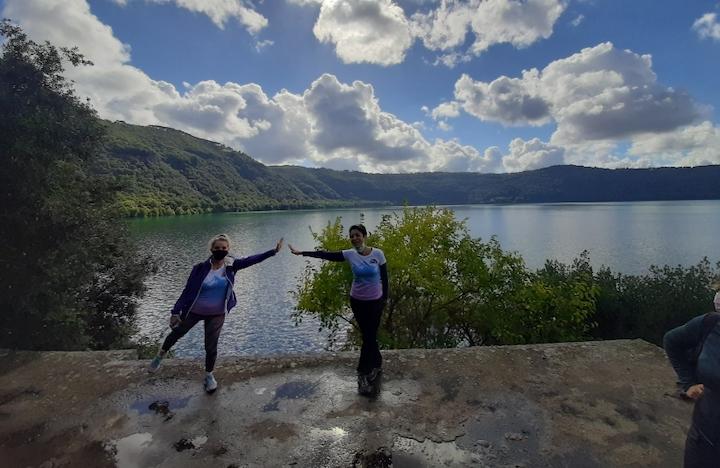 Trekking Lago di Castel Gandolfo